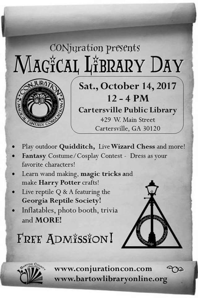Cartersville Library Presents: CONjuration