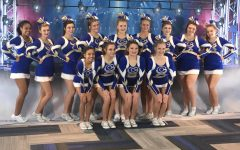 Colonels Cheerleaders Place 11th in State