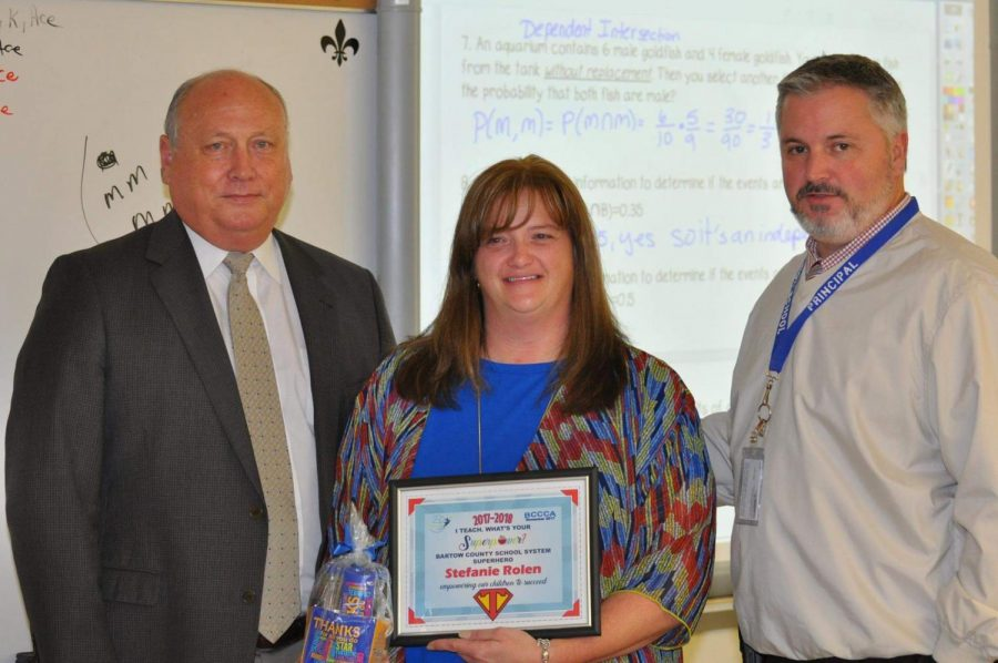 Cass Teacher Named November's Classroom Hero