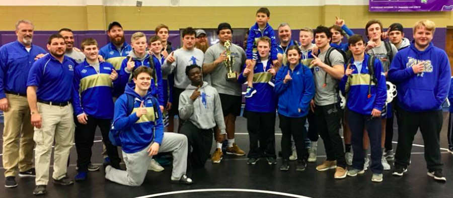 Cass Wrestlers Win Area Duals and Move on to State