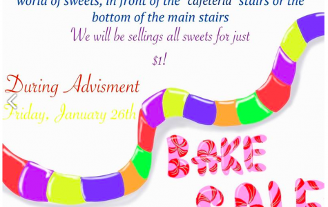 National English Honor Society Hosts Bake Sale
