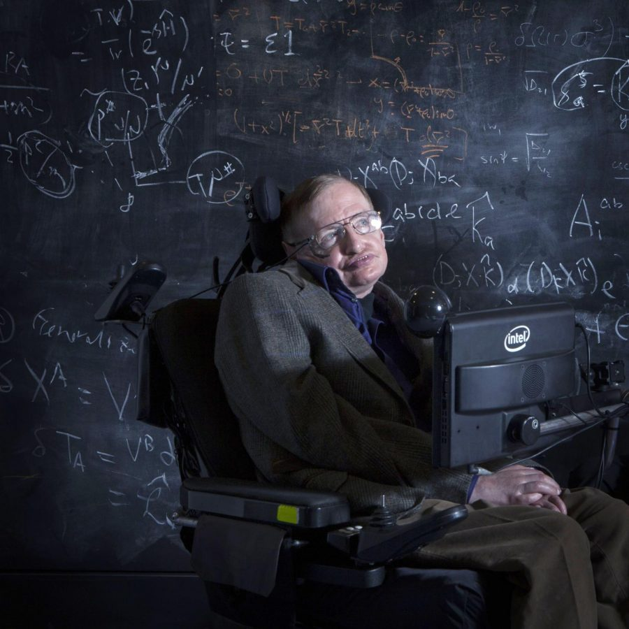 Hawking Joins the Stars