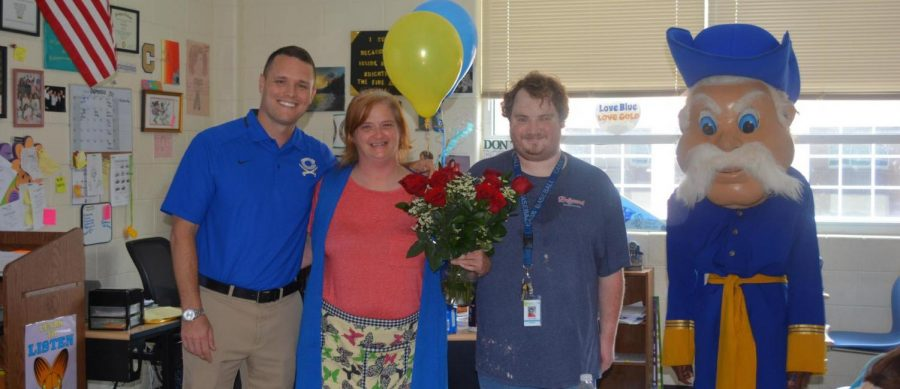 Teacher of the Year is Rockin' and Rolen'