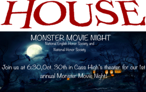 NEHS and NHS present Monster Movie Night