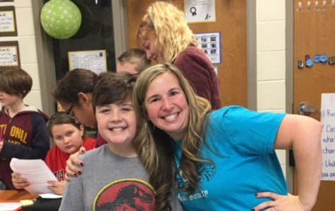 National English Honor Society Heads to White Elementary