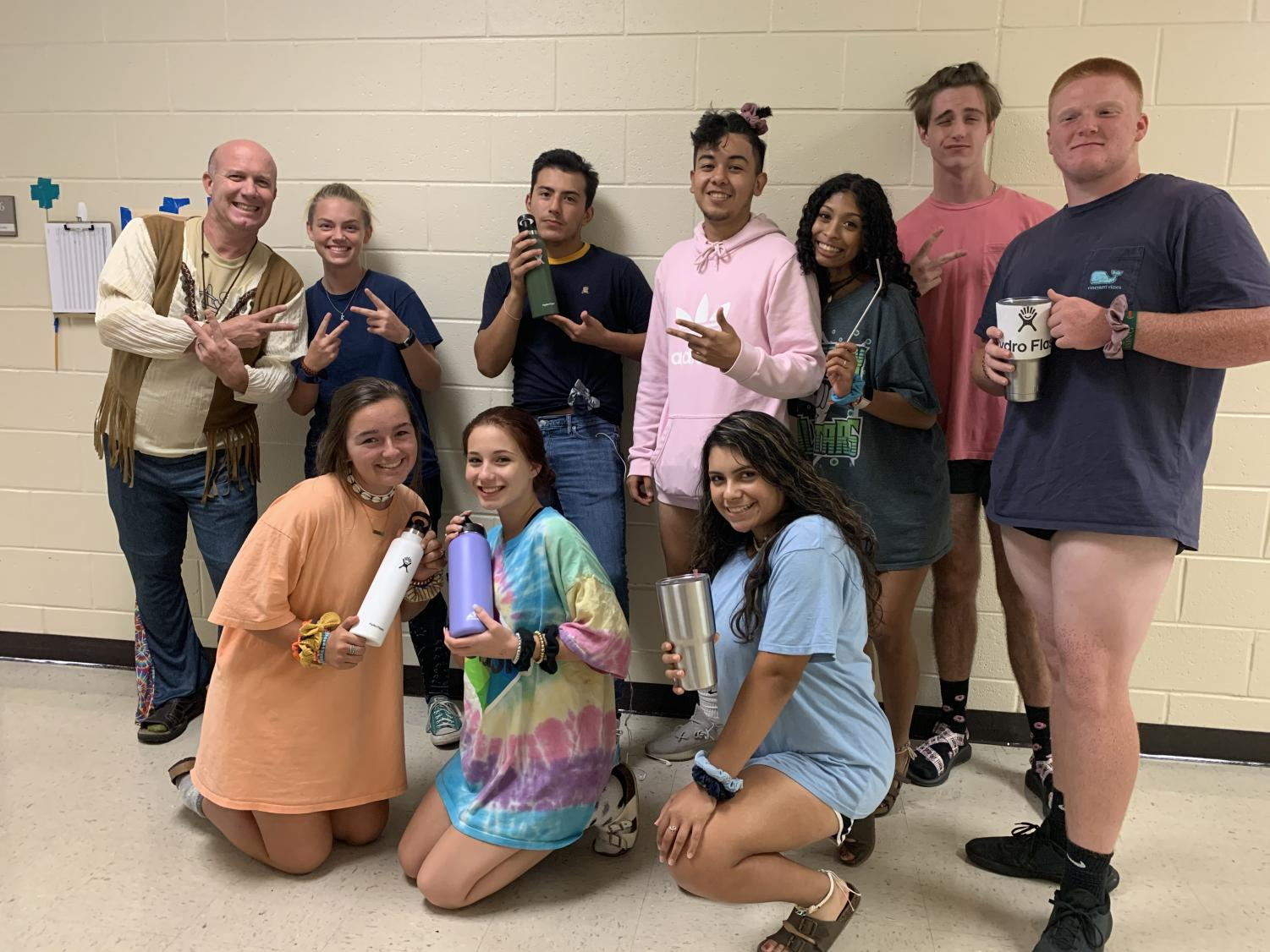Rawlins the hippie and his class of VSCO girls