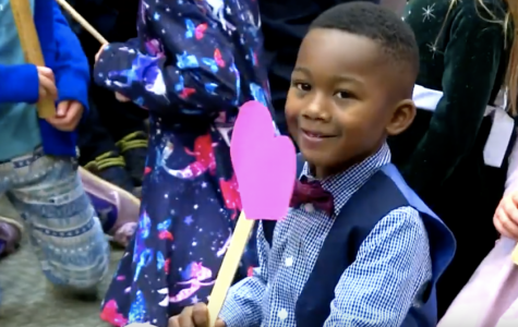 Boy's Kindergarten Class Watches as He Gets Adopted