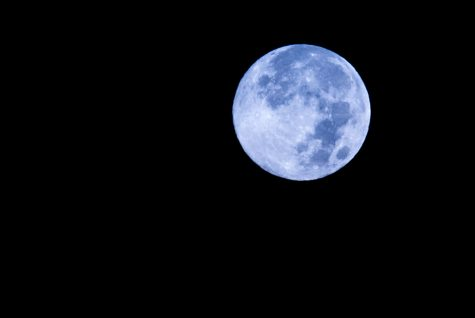 Once in a blue moon… literally.