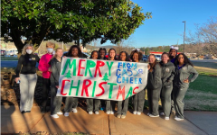 At Cass High, Bringing Cheer is a Colonel Affair!
