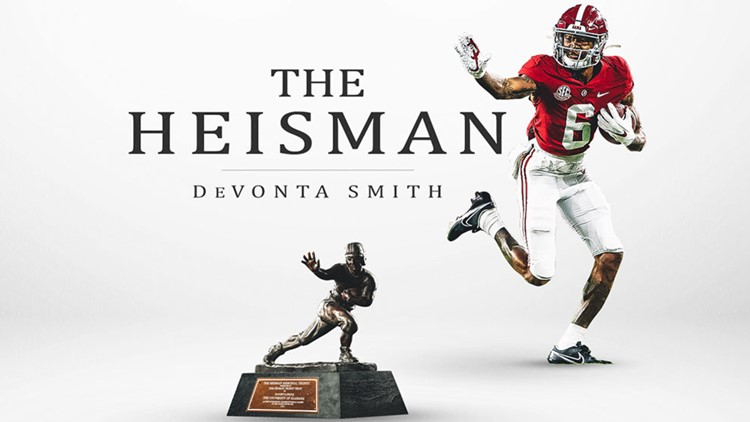 Devonta+Smith+Wins+the+Heisman+Trophy