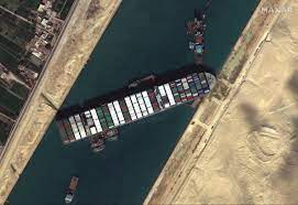 Big Blockage in the Suez