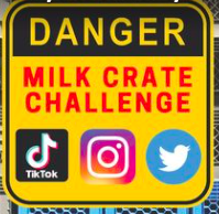 Viral 'Milk Crate Challenge' Knocking People Off Their Feet and Into Hospital Beds