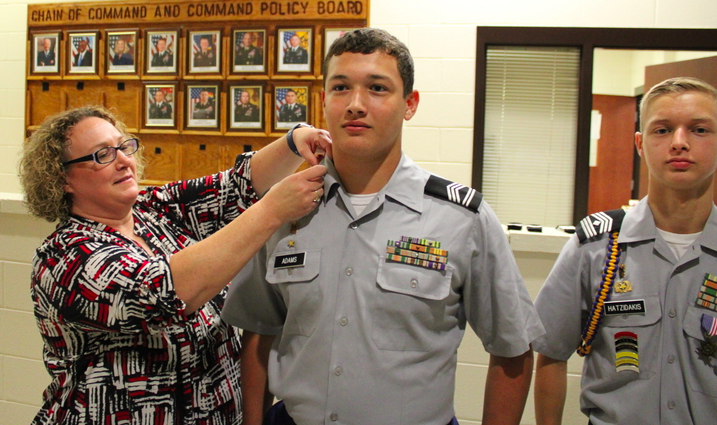 JROTC Promotes Ten Cadets